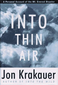 Book Cover: Into Thin Air