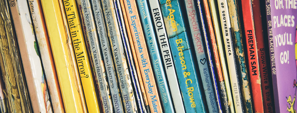 Image: Children's Book Spines