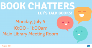Book Chatters @ Washington District Library - Main Library