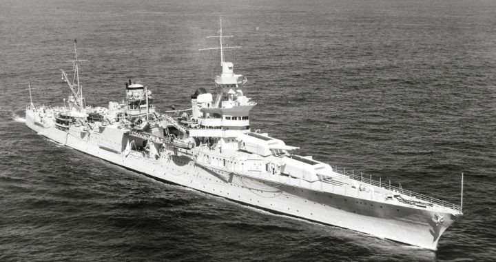 The ship USS Indianapolis