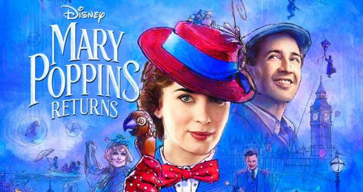Movie poster for 'Mary Poppins Returns'