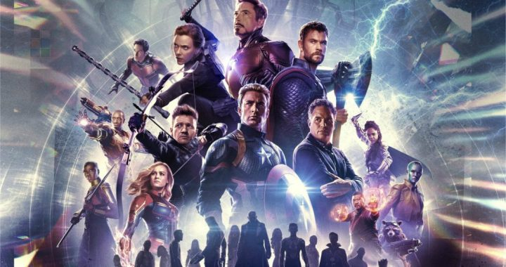 Characters from Avengers Endgame