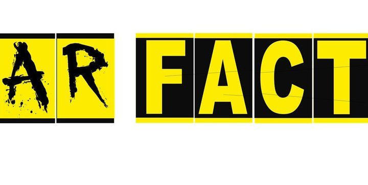 Fear Factor in black and yellow