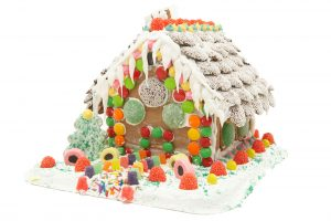 Gingerbread House @ Washington District Library - Sunnyland Branch