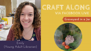 Craft Along - Graveyard in a Jar @ Facebook Live