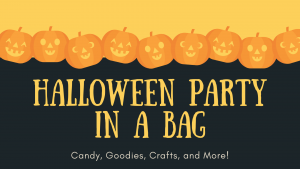 Halloween Party in a Bag @ Washington District Library - Main Library
