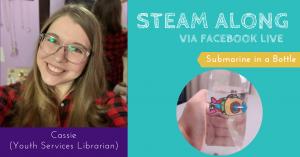 STEAM LIVE - Submarine in a Bottle @ Facebook LIVE