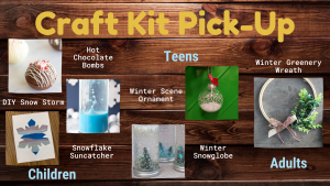 December Craft Kit Pick-Up @ Washington District Library- Main Library