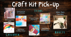 March Craft Kit Pick-Up @ Washington District Library- Main Library