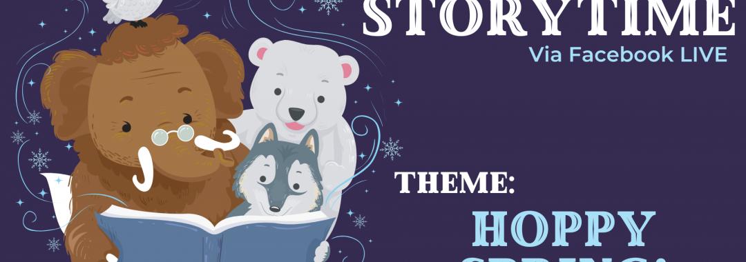 Winter Storytime- Hoppy Spring!