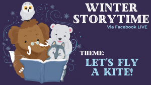 Winter Storytime- Let's Fly A Kite! @ Facebook Live