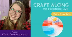 Craft Along - Donut Soap Jellie @ Facebook Live