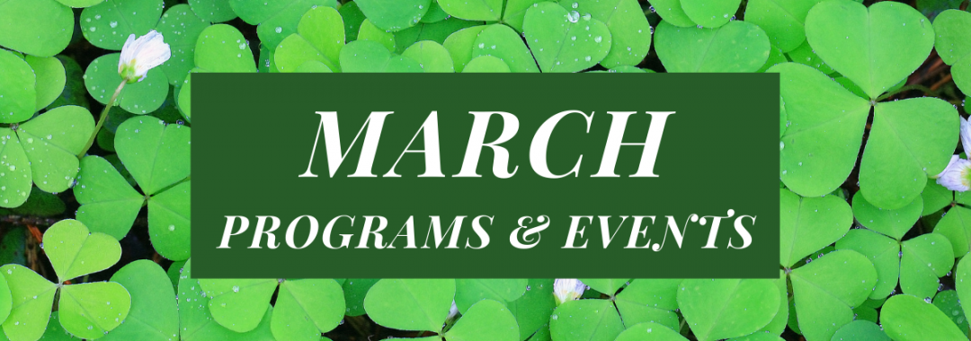 March Activities and Events