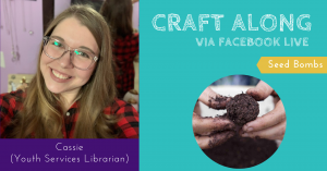 Craft Along - Seed Bombs @ Facebook Live