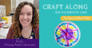Craft Along - Tie Dye Coffee Filters @ Facebook Live