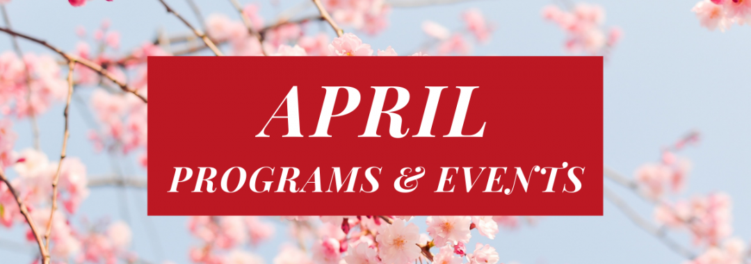 April Programs And Events