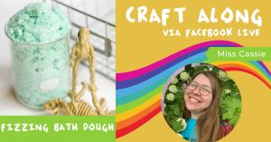 Craft Along - Fizzing Bath Dough @ Facebook Live