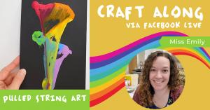 Craft Along - Pulled String Art @ Facebook Live