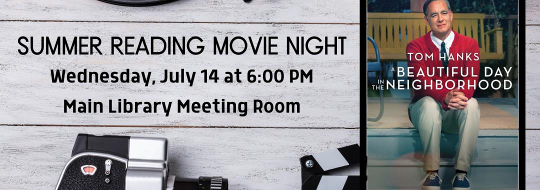 Summer Reading Movie- Week 6
