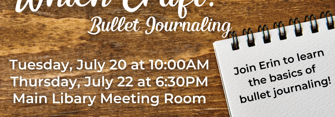 Which Craft? Bullet Journaling
