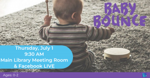 Baby Bounce @ Washington District Library- Main Library