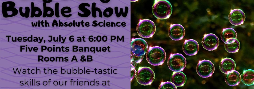 Big Bang Bubble Show