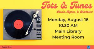 Tots & Tunes @ Washington District Library- Main Library