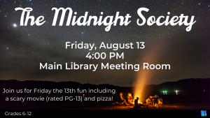 Midnight Society @ Washington District Library - Main Library