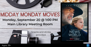 Septemeber 20th News of the World movie showing