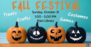 Fall Festival @ Washington District Library- Main Library