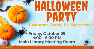 Halloween Party @ Washington District Library - Main Library