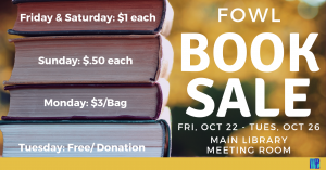 FoWL Book Sale @ Washington District Library- Main Library