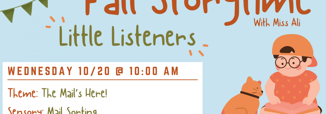 Little Listeners: Mail's Here!