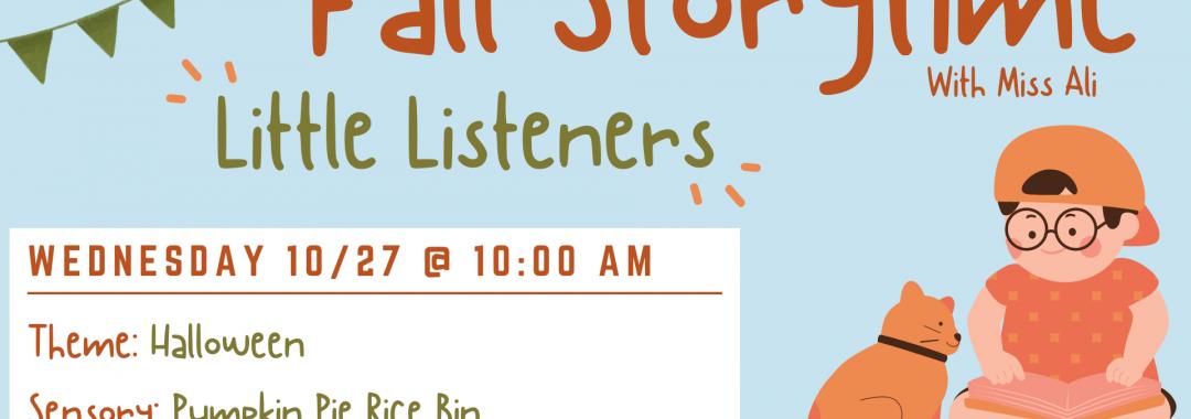 Little Listeners: Halloween