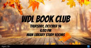 WDL Book Club @ Washington District Library