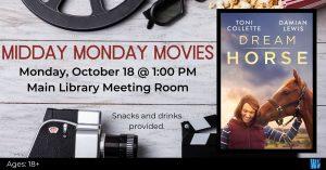 Midday Monday Movies @ Washington District Library - Main
