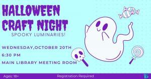 Halloween Craft Night @ Washington District Library - Main