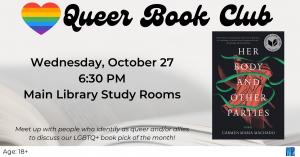 Queer Book Club @ Washington District Library - Main
